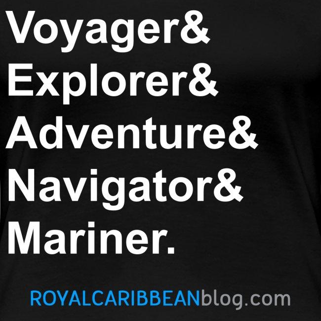 Voyager List Women's Shirt