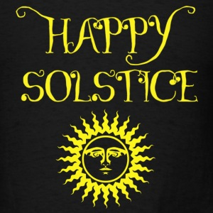 Happy Solstice - Men's T-Shirt