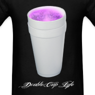 Design ~ Double cup - Tshirt