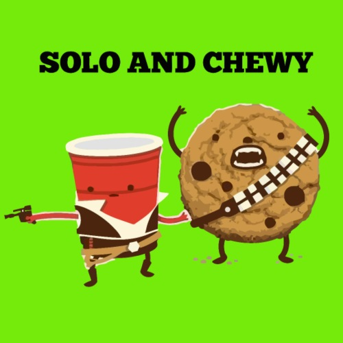 Funny star wars han solo and chewbacca