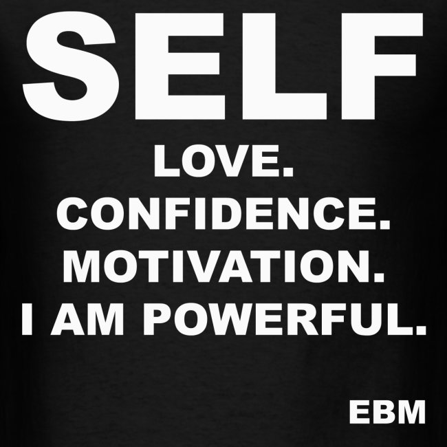 Empowered Black Male T-shirts by Lahart | SELF LOVE