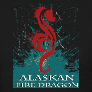 Alaskan Fire Dragon  - Women's T-Shirt
