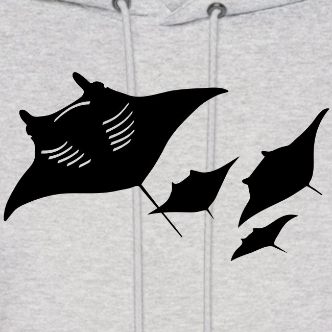 animal t-shirt manta ray scuba diver diving dive fish sting ray