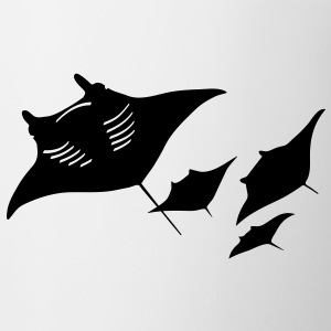 manta ray sting scuba diving diver dive Accessories - Coffee/Tea Mug