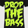 Drop The Bass (neon) T-Shirts - Men's V-Neck T-Shirt by Canvas