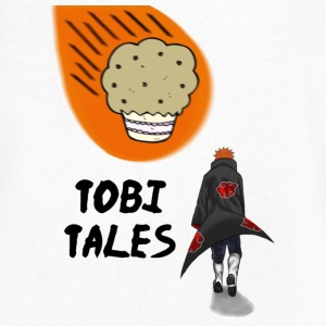 Tobi's Tales T-Shirts - Men's V-Neck T-Shirt by Canvas