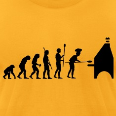 evolution_pizza T-Shirts