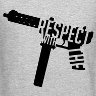 Design ~ Respect With The Tec Sweatshirt