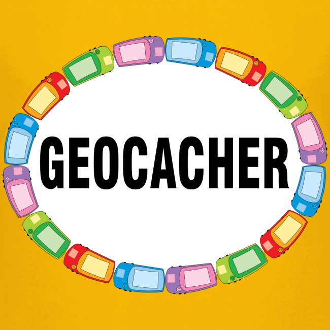 GPS Geocacher Oval
