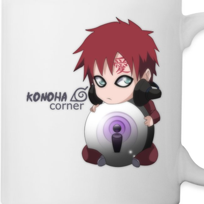 Chibi Gaara Right Handed Coffee Cup