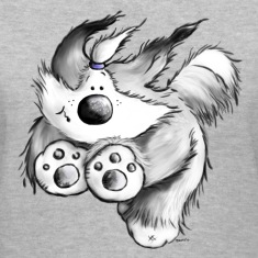 Old English Sheepdog - dog - cute cartoon  t-shirt