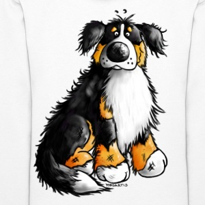 """Bernie"" - Bernese Mountain Dog Sweatshirt - Women's Hoodie"