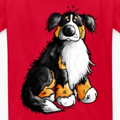 """Bernie"" - Bernese Mountain Dog T-Shirt"
