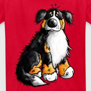 Bernie - Bernese Mountain Dog T-Shirt - Kids' T-Shirt