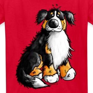 """Bernie"" - Bernese Mountain Dog T-Shirt - Kids' T-Shirt"