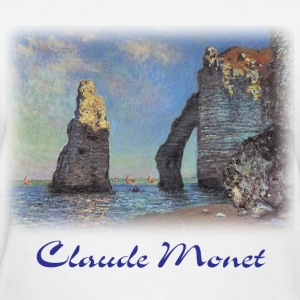 Monet - Cliffs at Etretat - Women's T-Shirt