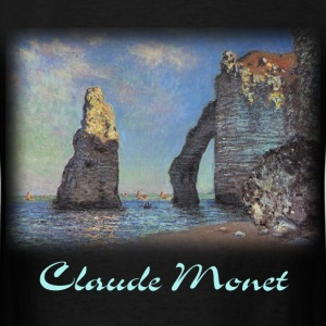 Monet - Cliffs at Etretat - Men's T-Shirt