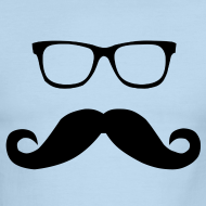 Design ~ Hipster Glasses and Mustache