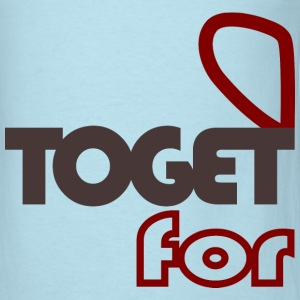 together forever (couple-male) T-Shirts - Men's T-Shirt