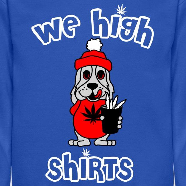 We High Slush Puppy Logo Crewneck