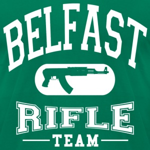 Belfast Rifle Team - Men's T-Shirt by American Apparel
