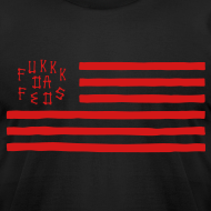Design ~ Fukkk Da Feds Flag Tee