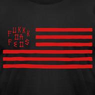 Design ~ Fukkk Da Feds Flag Tee