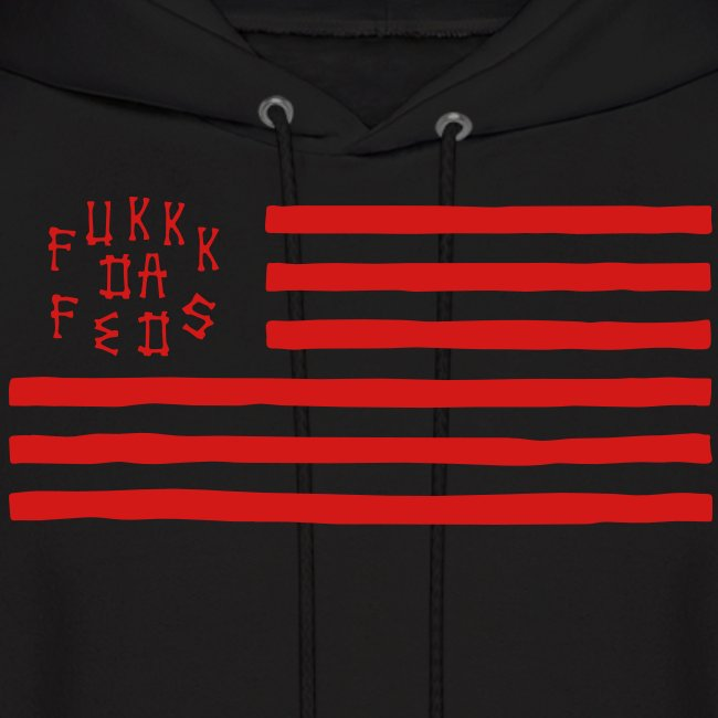 Fukkk Da Feds Flag Hoodie