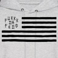 Design ~ Fukkk Da Feds Flag Hoodie