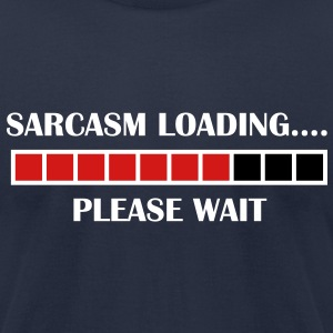 Sarcasm T-Shirts - Men's T-Shirt by American Apparel