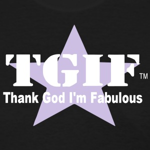 THANK GOD I'M FABULOUS Women's T-Shirts - Women's T-Shirt
