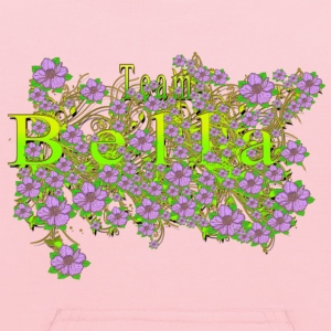 Team Bella Floral Lavender Flowers yellow Gold 3 Sweatshirts - Kids' Hoodie