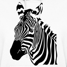 Zebra Hoodies