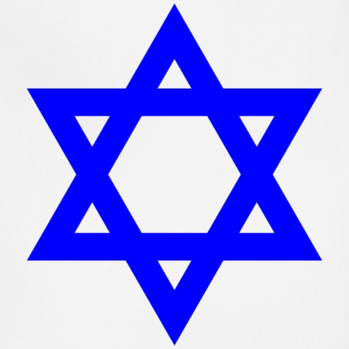 Blue Star of David symbol