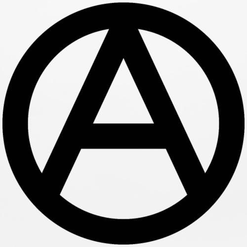 The Anarchy A Symbol  Anarchy Anarchist Logo black