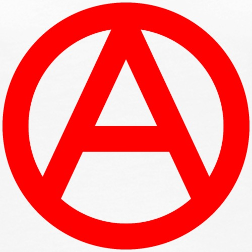 The Anarchy A Symbol  Anarchy Anarchist Logo red