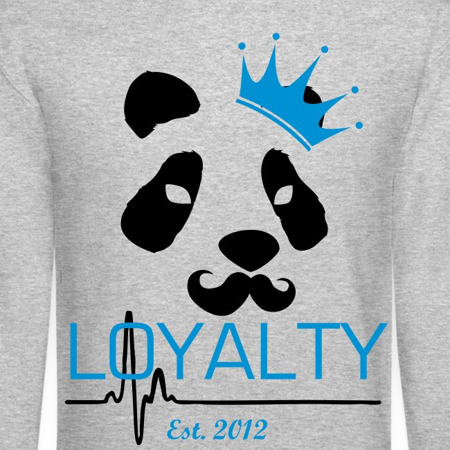 Loyalty Panda King Crewneck