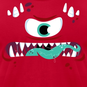 One-Eyed Monster - Men's T-Shirt by American Apparel