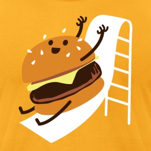 Slider Burger! - Men's T-Shirt by American Apparel