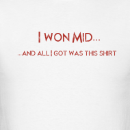 Design ~ DotA 2 I Won Mid Shirt