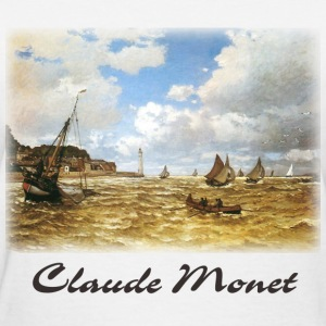 Monet - Mouth of the Seine - Women's T-Shirt
