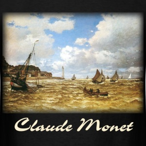 Monet - Mouth of the Seine - Men's T-Shirt