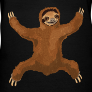 Design ~ Sloth Hug Women's V-Neck