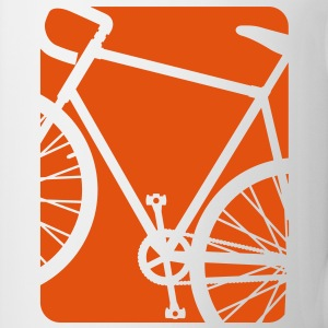 Bike Bicycling Biking Mug Orange - Coffee/Tea Mug