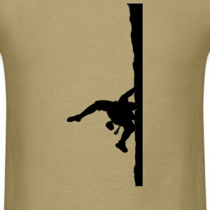 Rock Climber Khaki - Men's T-Shirt