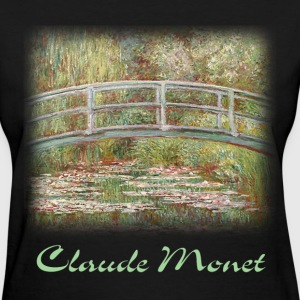 Monet - Bridge Over a Pond - Women's T-Shirt