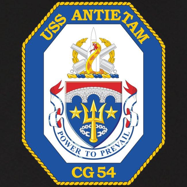 USS ANTIETAM CG-54 1990 DESERT STORM CRUISE HOODIE - FAMILY
