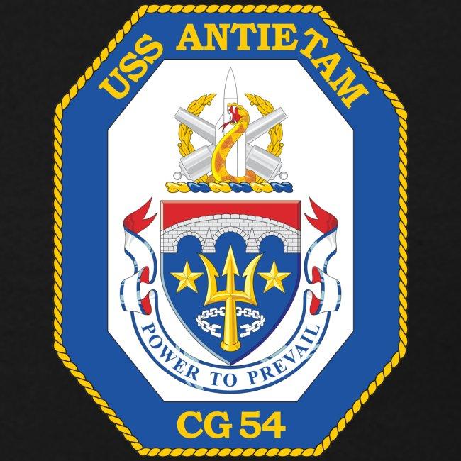 USS ANTIETAM CG-54 1990 DESERT STORM CRUISE SWEATSHIRT - FAMILY