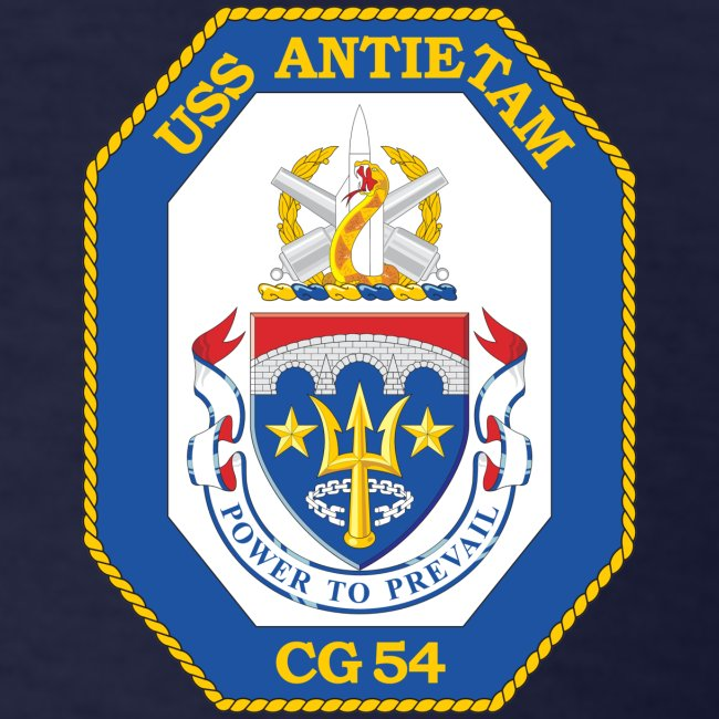 USS ANTIETAM CG-54 2007 CRUISE SHIRT - FAMILY