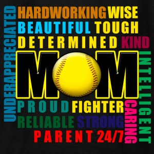 What is a Softball Mom Kids' Shirts - Kids' T-Shirt